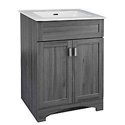 Rocara 24-inch W Vanity Combo with White Vitreous China Top