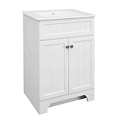 Whitton 24-inch W Vanity Combo with White Vitreous China