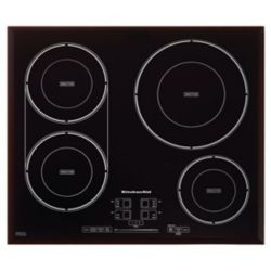 KitchenAid 24-inch Induction Cooktop in Black with 4 Elements