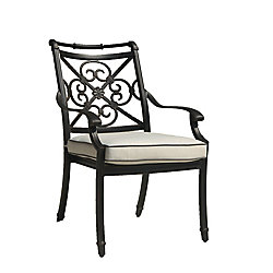 Maxwell Patio Dining Chair with Cushion