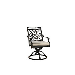 ONSIGHT Maxwell Swivel Rocker with Cushion