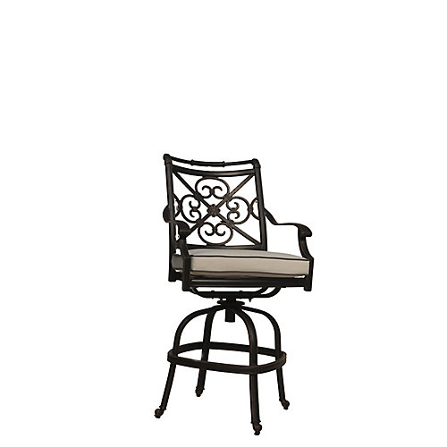 Maxwell Patio Counter Bar Stool with Cushion