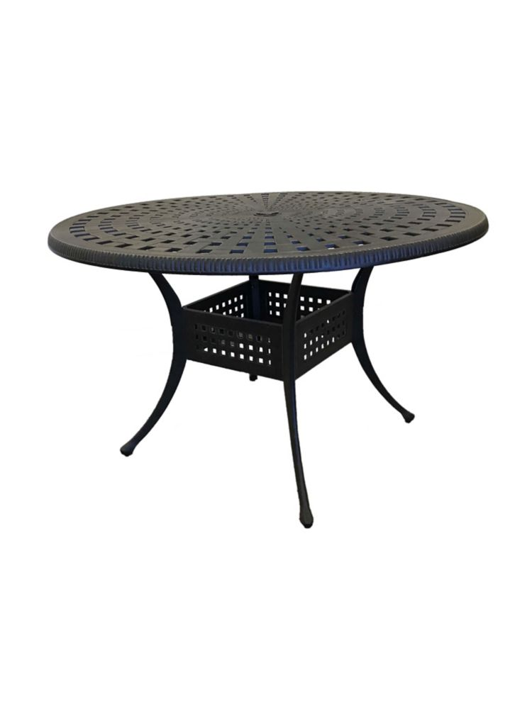 Bali Hai Bai Oval Outdoor Dining Table The Home Depot
