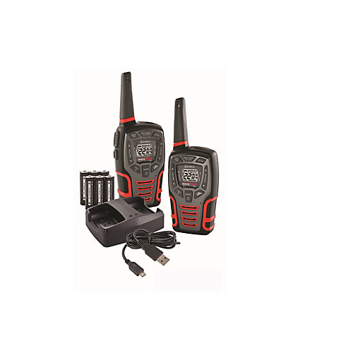 Cobra Walkie Talkie 2pk 45 Km Acxt545 The Home Depot Canada