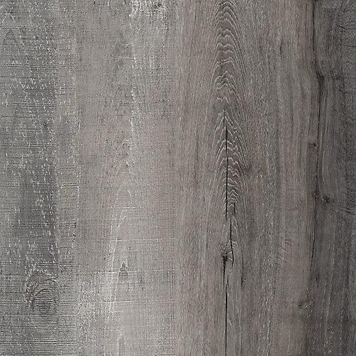 Latte pour plancher, vinyle de luxe, largeurs multiples x 47,6po, Bois vieilli, 19,53 pi2/boîte