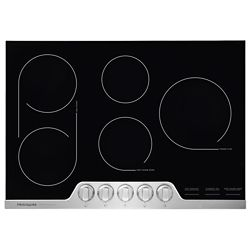 Frigidaire Professional 30-inch Radiant Electric Cooktop in Stainless Steel with 5 Elements