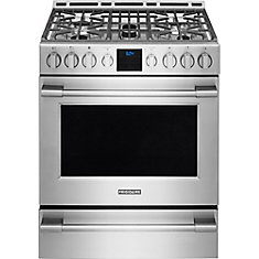 30 Inch Gas Front Control Freestanding Range