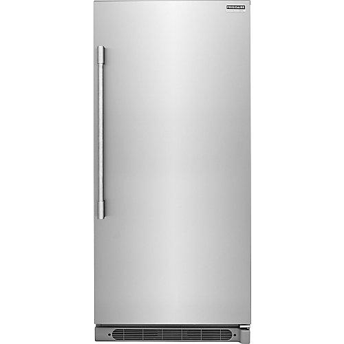 32-inch W 19 cu. ft. Freezerless Refrigerator in Stainless Steel