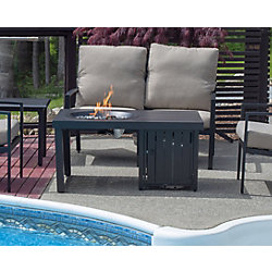 Paramount Aluminium Convertible Fire Pit Coffee Table