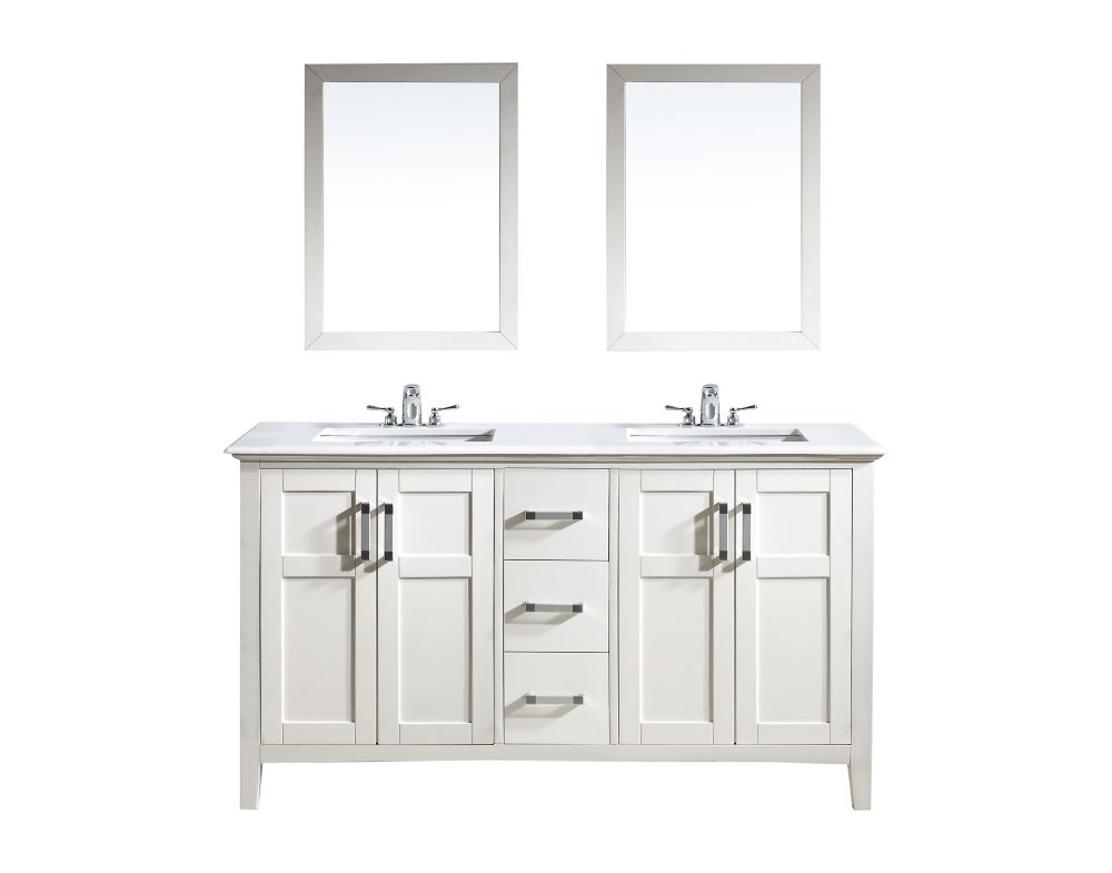 home decorators collection naples white 30 inch vanity the home depot canada. Black Bedroom Furniture Sets. Home Design Ideas