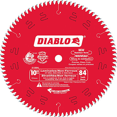 Diablo 10 inch Laminate Flooring Blade | The Home Depot Canada