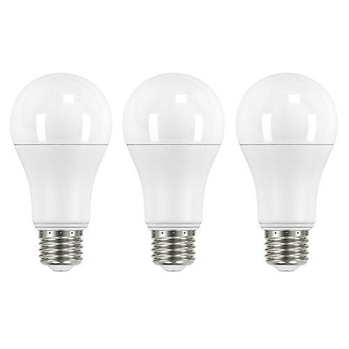 100W Equivalent Daylight A19 LED Light Bulb (3-Pack)