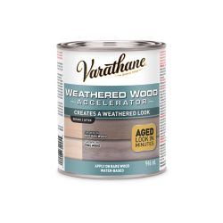 Varathane Weathered Wood Accelerator In Grey, 946 Ml