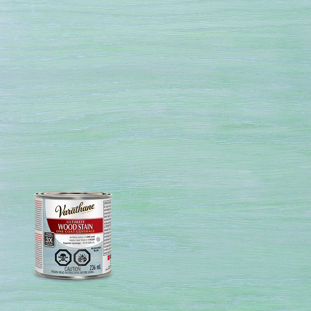 Varathane Ultimate Stain Bleached Blue 236ml