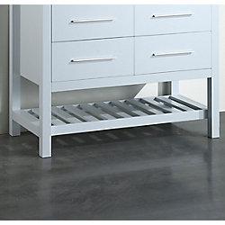 Bosconi 42.50-inch W 2-Drawer Freestanding Vanity in White