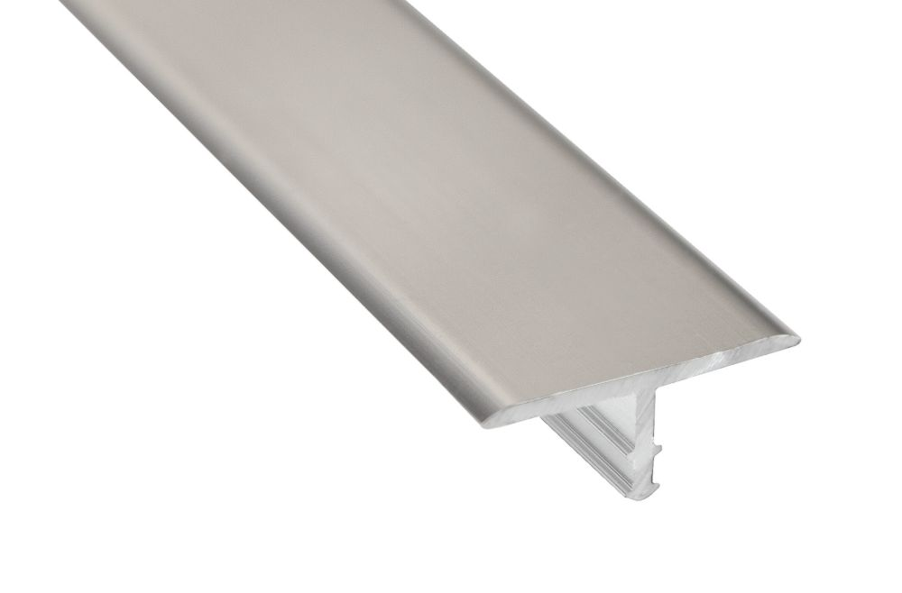 Alexandria Moulding Metal Angle Satin Clear 1 In X 1 In
