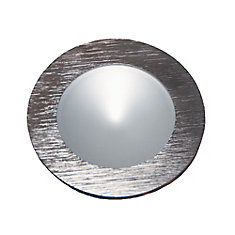 Polaris LED Brushed Aluminum Puck Light