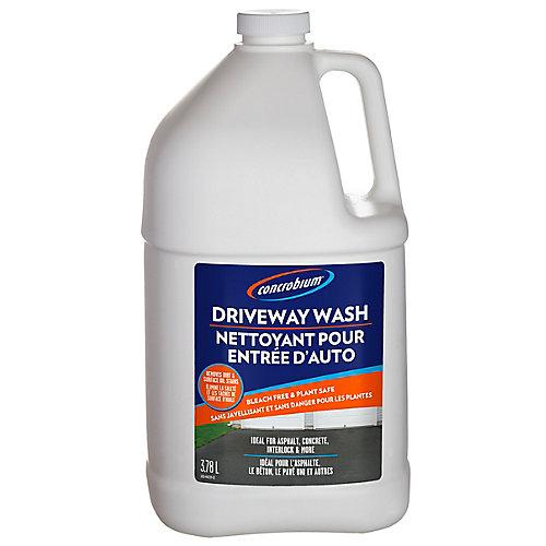 Nettoyant pour Entrée dAuto de 3,78 L