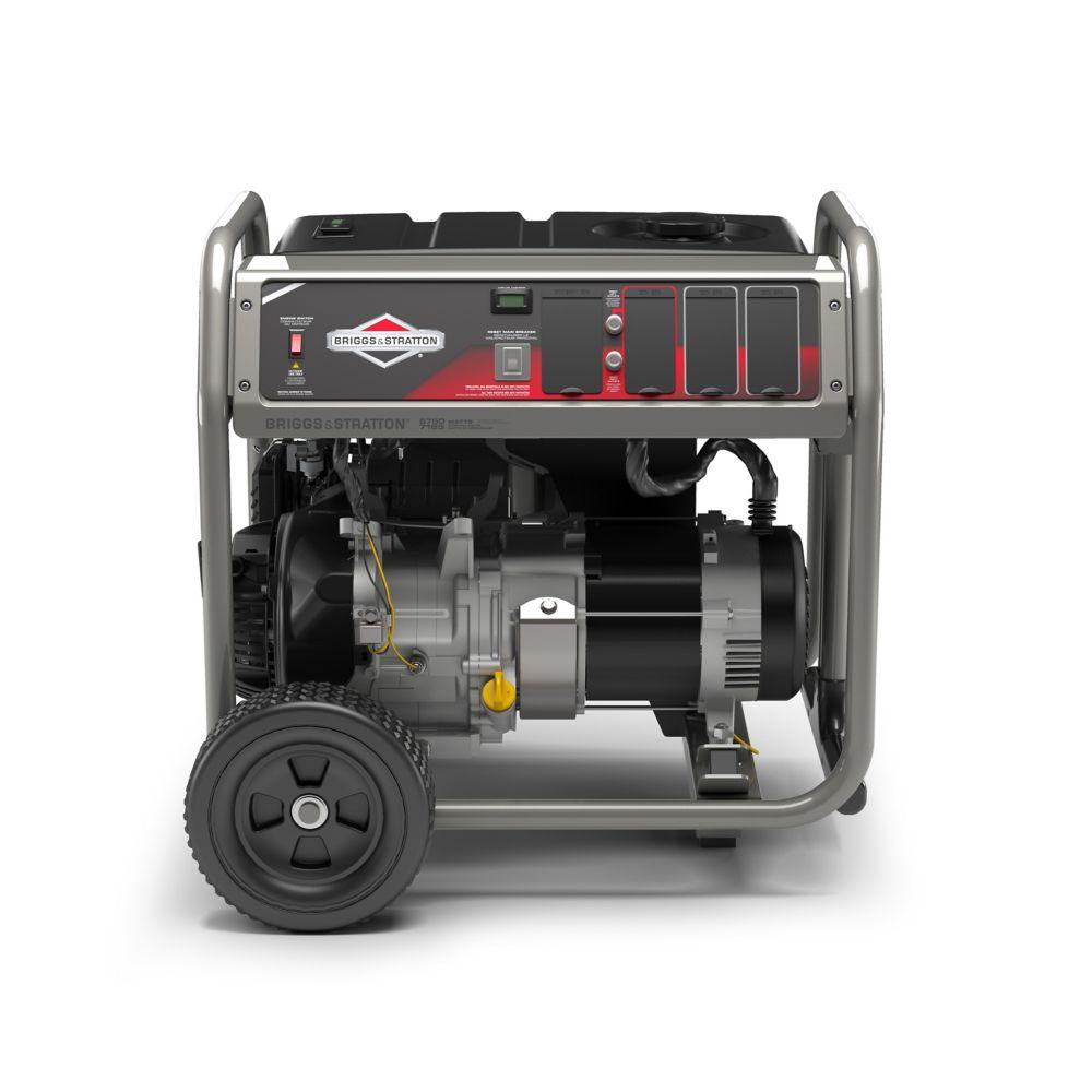 Watt Meter Home Depot Canada: Briggs & Stratton 5750 Watt Generator