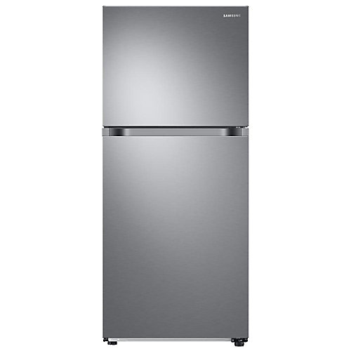 17.5 cu. ft. Top Mount Freezer Refrigerator in Stainless Steel - ENERGY STAR®
