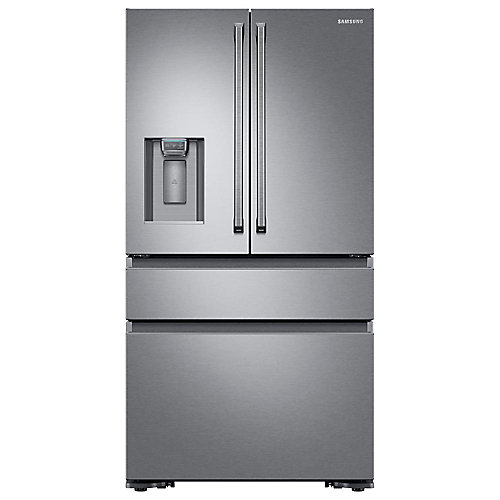 36-inch W 22.7 cu.ft. French Door Refrigerator in Stainless Steel, Counter Depth - ENERGY STAR®