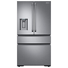 36 Inch 23.0 cu.ft, Counter Depth, Stainless Steel Refrigerator RF23M8090SR - ENERGY STAR®