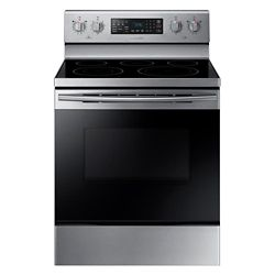 Samsung 30-inch 5.9 cu.ft Freestanding Range with Fan Convection in Stainless Steel