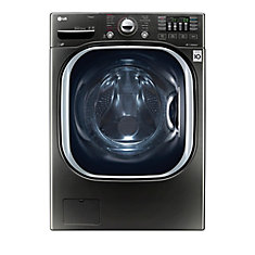 5.2 cu. ft. Ultra Large Capacity Front Load TurboWash Washer in Black Stainless Steel - ENERGY STAR®
