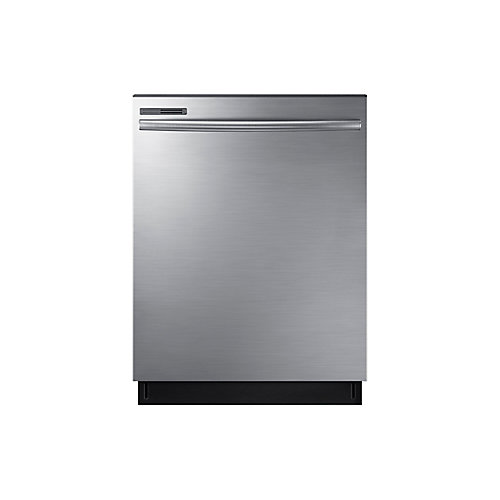 24-inch Top Control Dishwasher with Interior Door and Plastic Tall Tub in Stainless Steel - ENERGY STAR®