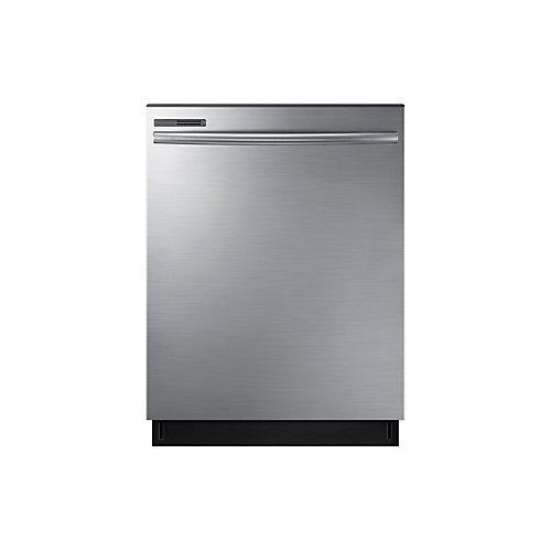 Lave-vaisselle à panneau par effleurement et haute cuve plastique, 24 po, acier inoxydable - ENERGY STAR®