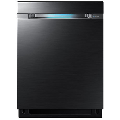 24-inch Built-in Wifi Dishwasher with WaterWall Technology and 3rd Rack in Black Stainless Steel - ENERGY STAR®