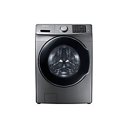 Samsung 5.2 cu. ft. High-Efficiency Front Load Washer in Platinum - ENERGY STAR®