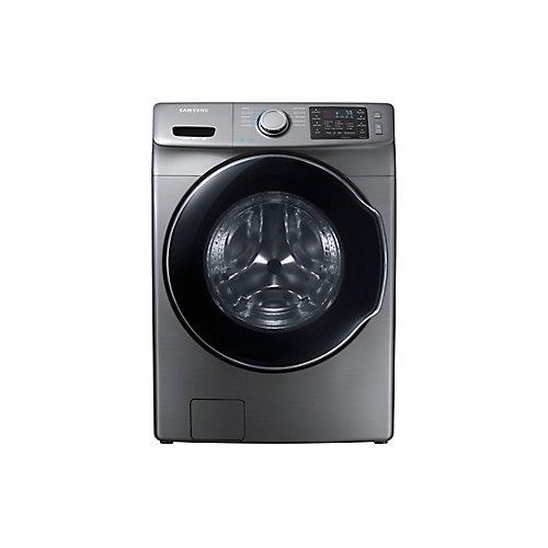 Laveuse haute efficacité à chargement frontal et Steam Dryrer, 5,2 pi3, platine - ENERGY STAR®