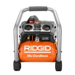 RIDGID 1 Gallon 18-Volt Brushless Cordless Air Compressor (Tool Only)