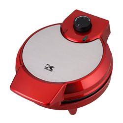 Kalorik Heart Shape Waffle Maker in Metallic Red