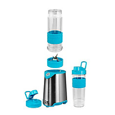 Blue and Stainless Steel Personal Blender