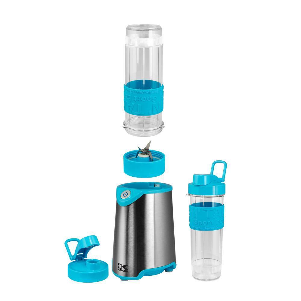 Kalorik Blue and Stainless Steel Personal Blender