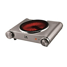 Stainless Steel Infrared Single Ceramic Cooking Plate