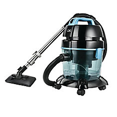 Blue Pure Air Wet/Dry Vacuum Cleaner with Cyclonic Water Filtration