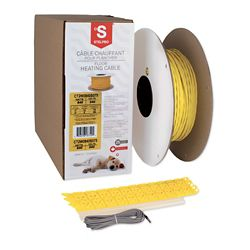 STELPRO Twisted Heating Cable 33SQFT / 3Inches 240V 360W
