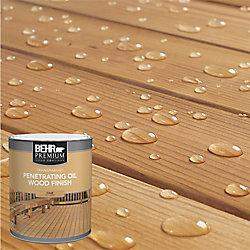 Behr Premium Fini d'huile pénétrant et transparent pour bois - Incolore, 946 mL