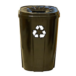 Enviro World 55 gallon Recycling bin black