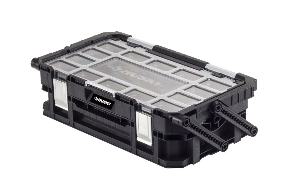 HUSKY Connect 22-inch Cantilever Organizer