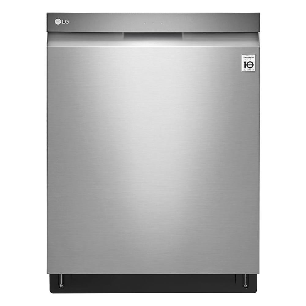 24-inch Top Control Dishwasher with Pocket Handle and EasyRack in Stainless Steel - ENERGY STAR®