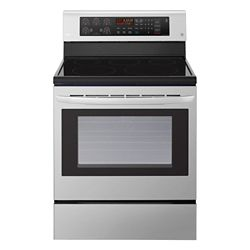 LG Electronics 6.3 cu. ft. Electric Range with EasyClean and True Convection in Stainless Steel