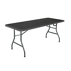 Cosco Table Pliante 6' Cosco, Noir