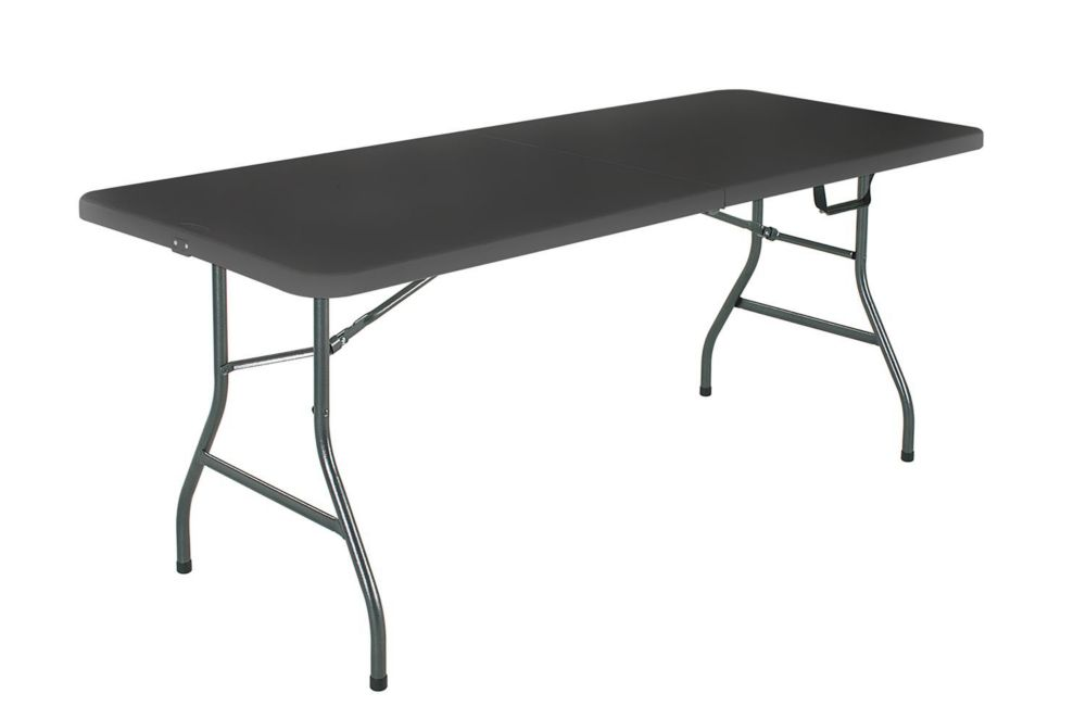 Cosco 6 Feet Folding Table, Noir