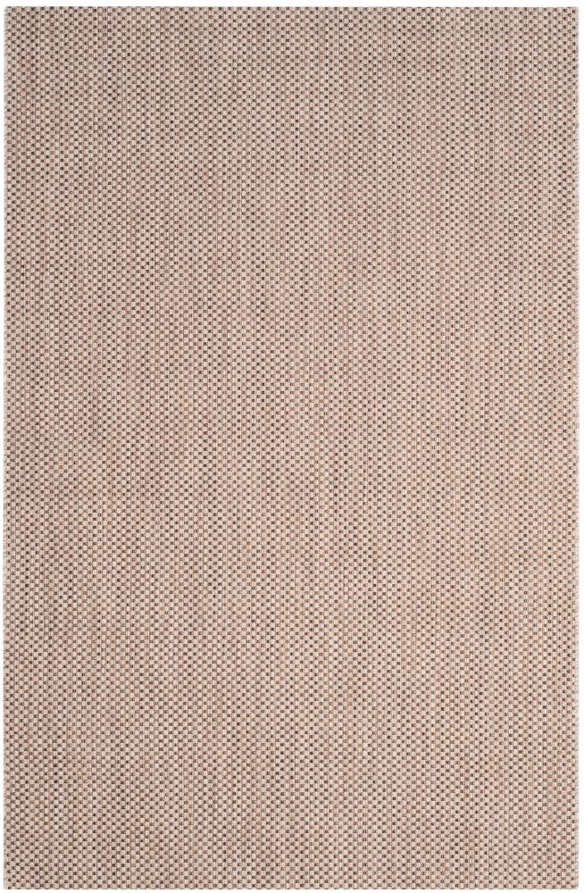 Safavieh Courtyard Neal Beige / Brown 5 ft. 3 inch x 7 ft. 7 inch Indoor/Outdoor Area Rug