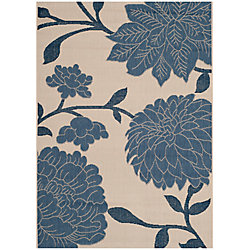Safavieh Courtyard Blue 2 ft. 7-inch x 5 ft. Indoor/Outdoor Rectangular Area Rug - CY7321-233A25-3