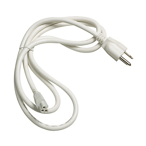 Zeestick Cord And Plug In White